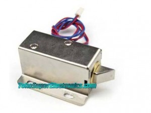 Door Lock Solenoid 12V Canggih | Door Lock Full Cover 12V