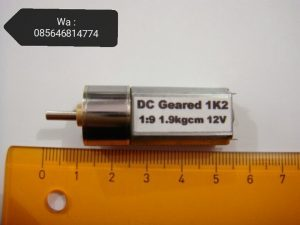 Motor Dc Line Tracer 1200 Rpm Plus Gearbox